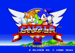 snolf - the sonic golf experience